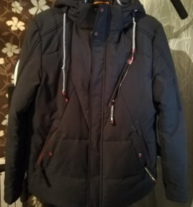 Зимняя мужская куртка-пуховик