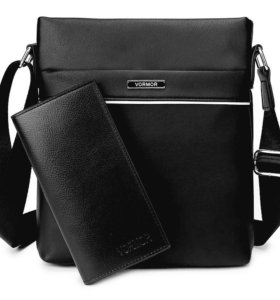 Мужская сумка + кошелек