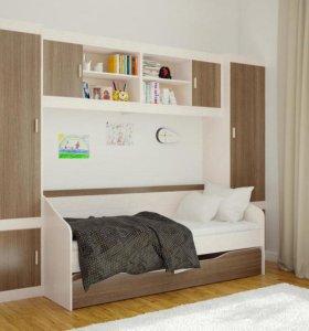 Кровать с ящиком детская