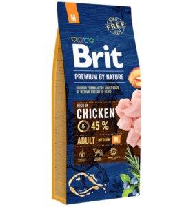 Корм для собак 15 кг. Brit Premium By Nature