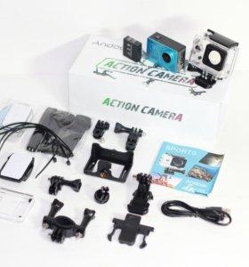 Доставка Экшн Камера 4K Wi-Fi 16Mp Экран Сос