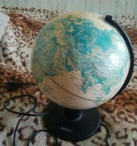 Глобус с подсветкой.