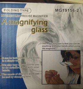 Очки с увеличительными стёклами