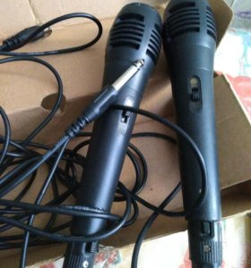 Караоке два микрофона