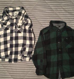 Рубашки Next 2-3 года