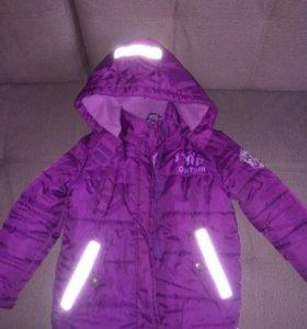 Продам куртку осень, р.116,-122