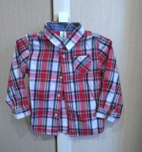 Рубашка новая на мальчика