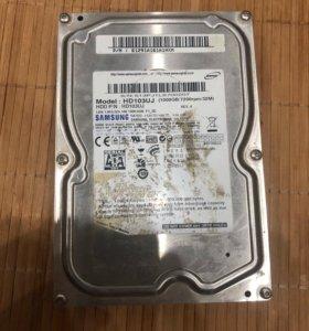 Жесткий диск SAMSUNG HD103UJ 1 Tb 7200 rpm sataii