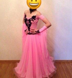Платье для больно-спортивных танцев. Стандарт