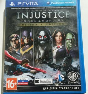 Игра для PS Vita Injustce