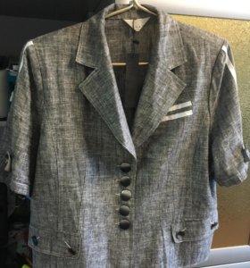 костюм новый тройка (пиджак, юбка, брюки)