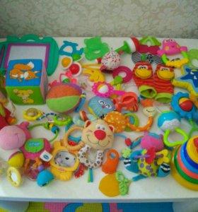 Фирменные игрушки Tiny love, Fisher Price