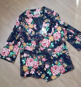 Пиджак новый. 46-48 размер.