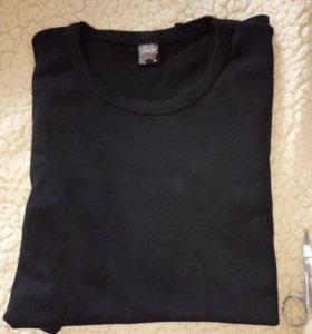 Чёрная женская футболка 🌚