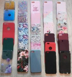 Чехлы от 4,5,6,7,8,10 айфонов
