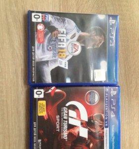 Диск PS4. Игры PS4