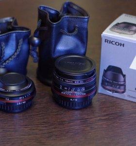 Объективы Pentax серии Limited HD: 15mm f/4 и 40mm