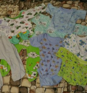 Пакет детских вещей новорожденного