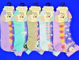 Носки подростковые укороченные хлопок+капрон