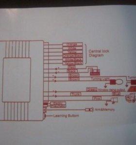 Дистанционное управление центральным замком.