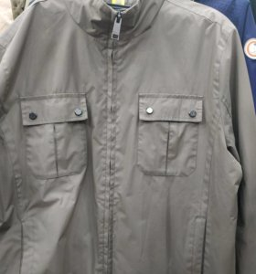 Куртка мужская XL новая из дорогих болотного цвета