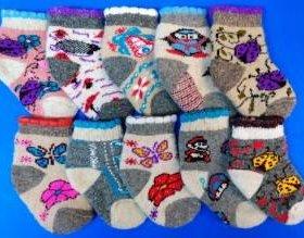 Знаменитые Тамбовские носки. В упаковке 5 пар одно