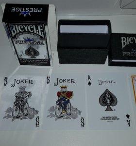 Игральные карты BICYCLE PRESTIGE НОВЫЕ