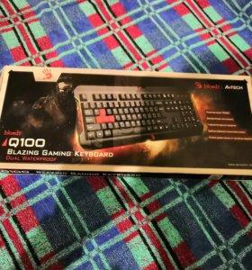 Игровая клавиатура a4tech bloody q100 (новая)