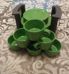 Новая посуда + подставка