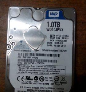 Жесткий диск 1TB (WD10JPVX)