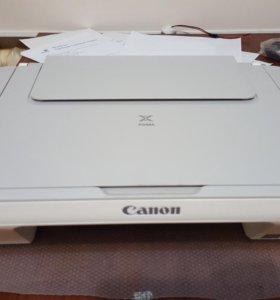 Принтер, сканер, копир цветной струйный