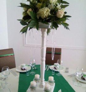 Продается стойка под цветы для декора