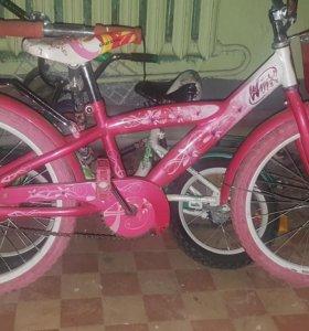 Велосипед для девочки с 6 лет