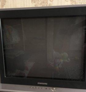 Телевизор SAMSUNG с пультом, 51 см экран