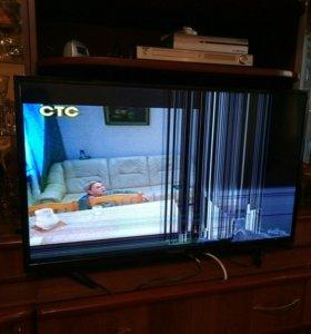продается б у телевизор на запчасти