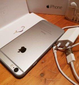 iPhone 6,16gb,space gray, в идеальном состоянии