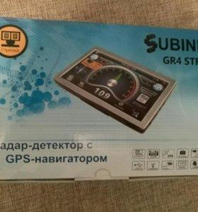 Радар+видеорегистратор+GPS
