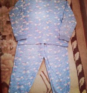 Пижама детская 4-6лет