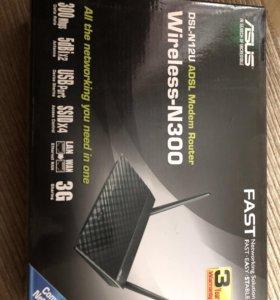 DSL-N12U Wireless-N300 роутер