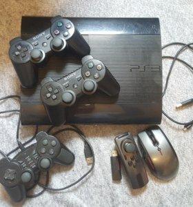 Приставка PS3 плюс диски и др.