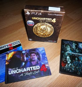 Uncharted 4 A Thief's End Limited Edition