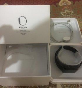 Apple Watch 2 42mm black stainless steel