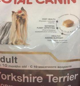 Корм для породы йоркширский терьер Royal Canin