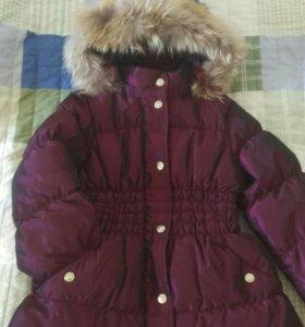 Куртка-пальто пуховик Aviva