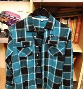 Фирменная рубашка 146-152 см
