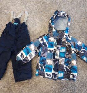 Зимний детский костюм 92р-р