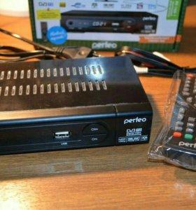 Цифровая ТВ приставка ресивер DVB T2