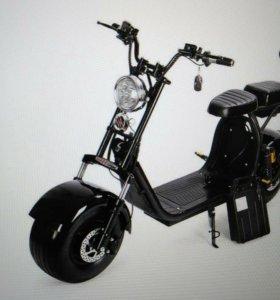 Электрический скутер мотоцикл, H8PX WOQU ,Citycoco