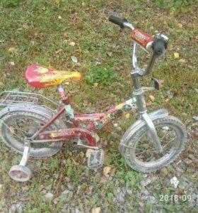 велосипед детский все недочеты видно на фото