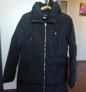 Куртка удлинённая на синдепоне.